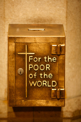 Collection Box at St Patrick's Cathedral