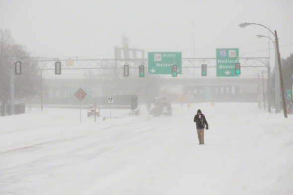"Winter storm ""Juno"" hits Boston"